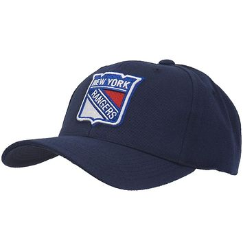 New York Rangers - Logo Clean Up Blue Adjustable Baseball Cap