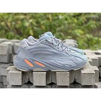 Adidas Yeezy 700 Boost New fashion running reflective lace-up sneakers