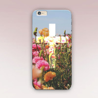 Floral Cross Phone Case For- iPhone 6 Case - iPhone 5 Case - iPhone 4 Case - Samsung S4 Case - iPhone 5C - Tough Case - Matte Case - Samsung