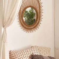 Sun Rattan Mirror - Urban Outfitters