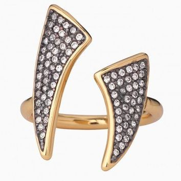 Pave Horn Ring