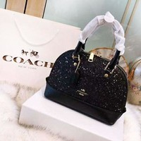 Coach tide brand female models full of stars portable diagonal shell bag