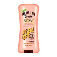 Shimmer Effect Sunscreen Lotion