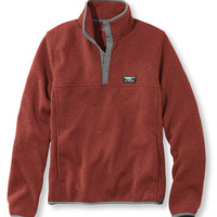 Men's Bean's Sweater Fleece Pullover | Free Shipping at L.L.Bean