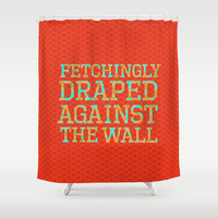 The picture of sophisticated grace Shower Curtain by Studiomarshallarts