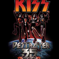 Kiss Poster Flag Destroyer 35th Anniversary Tapestry