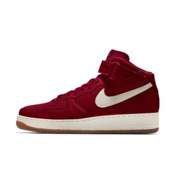 The Nike Air Force 1 Mid iD Shoe.