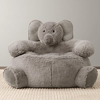 Cuddle Plush Elephant Chair