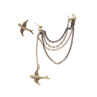 LOVEsick Sparrow Stud And Ear Cuff