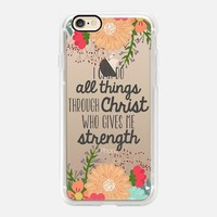 Inspirational Casetify iPhone 7 Case | I Can do All Things Design by The Olive Tree (iPhone 6s 6 Plus SE 5s 5c & more)