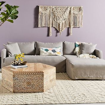 Olivia Chaise Sectional, Right