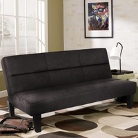 Best Choice Products Microfiber Futon Folding Couch Sofa Bed Sleep Recliner Lounger Black - Walmart.com