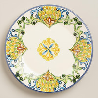 Peacock Salad Plates, Set of 6 - World Market