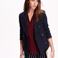 Old Navy Womens Classic Pea Coat