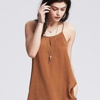 Pleat Front Cami