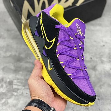 Nike LeBron low-top professional combat sports basketball shoes