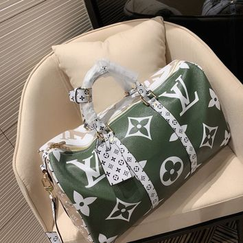 Louis Vuitton LV Monogram Travel Bags Tote Handbag