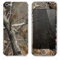 The Real Camouflage Skin for the iPhone 3, 4-4s, 5-5s or 5c
