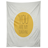 Allyson Johnson You Really Are My Sunshine Tapestry