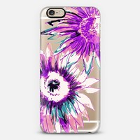 Big Watercolor sunflower iPhone 6s case by Susanna Nousiainen | Casetify