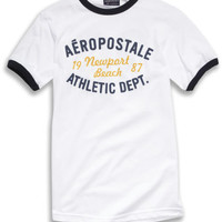 Aeropostale  Free State Golden Trees Flag Graphic T