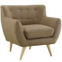 Remark Armchair in Brown