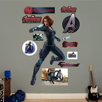 Avengers: Age of Ultron Black Widow Wall Decal by Fathead