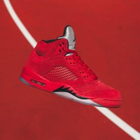 Best Sale Nike Air Jordan 5 - University Red / Black