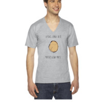 Haters Gonna Hate, Potatoes Gonna Potate 2 - V-Neck T-shirt