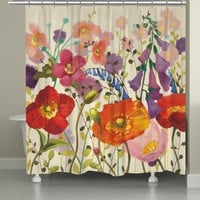 Couleur Printemps Shower Curtain
