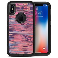 Abstract Wet Paint Pink Sag - iPhone X OtterBox Case & Skin Kits