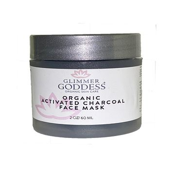 Organic Activated Charcoal Face Mask - Superior Detox & Purification