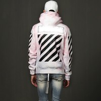 Mens Color Mixed Pullover Sweats Hoodie at Fabrixquare