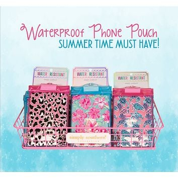 Simply Southern Water Resistant Phone Pouch