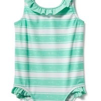 Ruffled Swimsuit for Baby