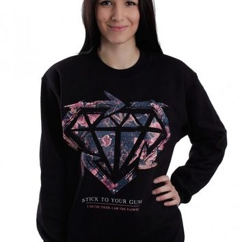 Stick To Your Guns - Floral - Sweater