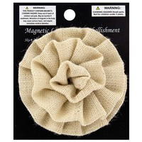 Off White Burlap Flower Lamp Shade Embellishment | Shop Hobby Lobby