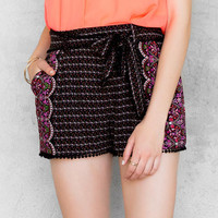 Abree Printed Shorts