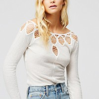 Free People Battenberg Layering Top