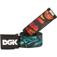 DGK COLLAGE SCOUT BELT BLK/ASST