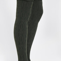 Urban Outfitters - Sock It To Me Textured Over-The-Knee Sock