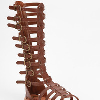 Urban Outfitters - Ecote Helena Tall Buckled Caged Sandal