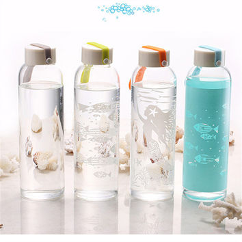 Creative Sea Glass Outdoors Gifts Bottle [6283311558]
