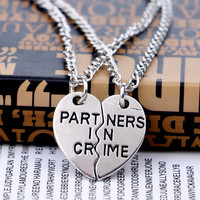Stylish Gift Jewelry New Arrival Shiny Simple Design Necklace [10232196807]