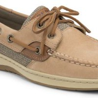 Sperry Top-Sider Bluefish Washable 2-Eye Boat Shoe Sand, Size 12M  Women's Shoes