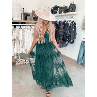 Midsummer Night Dress (Hunter Green)