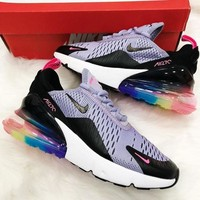 Nike Air Max 270 Men And Women The Air Cushion Shoes-46