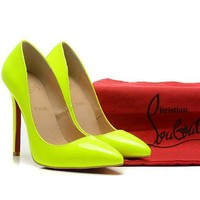 CL Christian Louboutin Fashion Heels Shoes-45