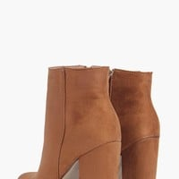 Katy Pointed Toe Block Heel Boots