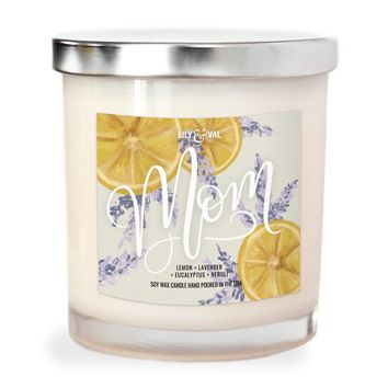 """Limited Edition """"Mom"""" Soy Wax Candle"""